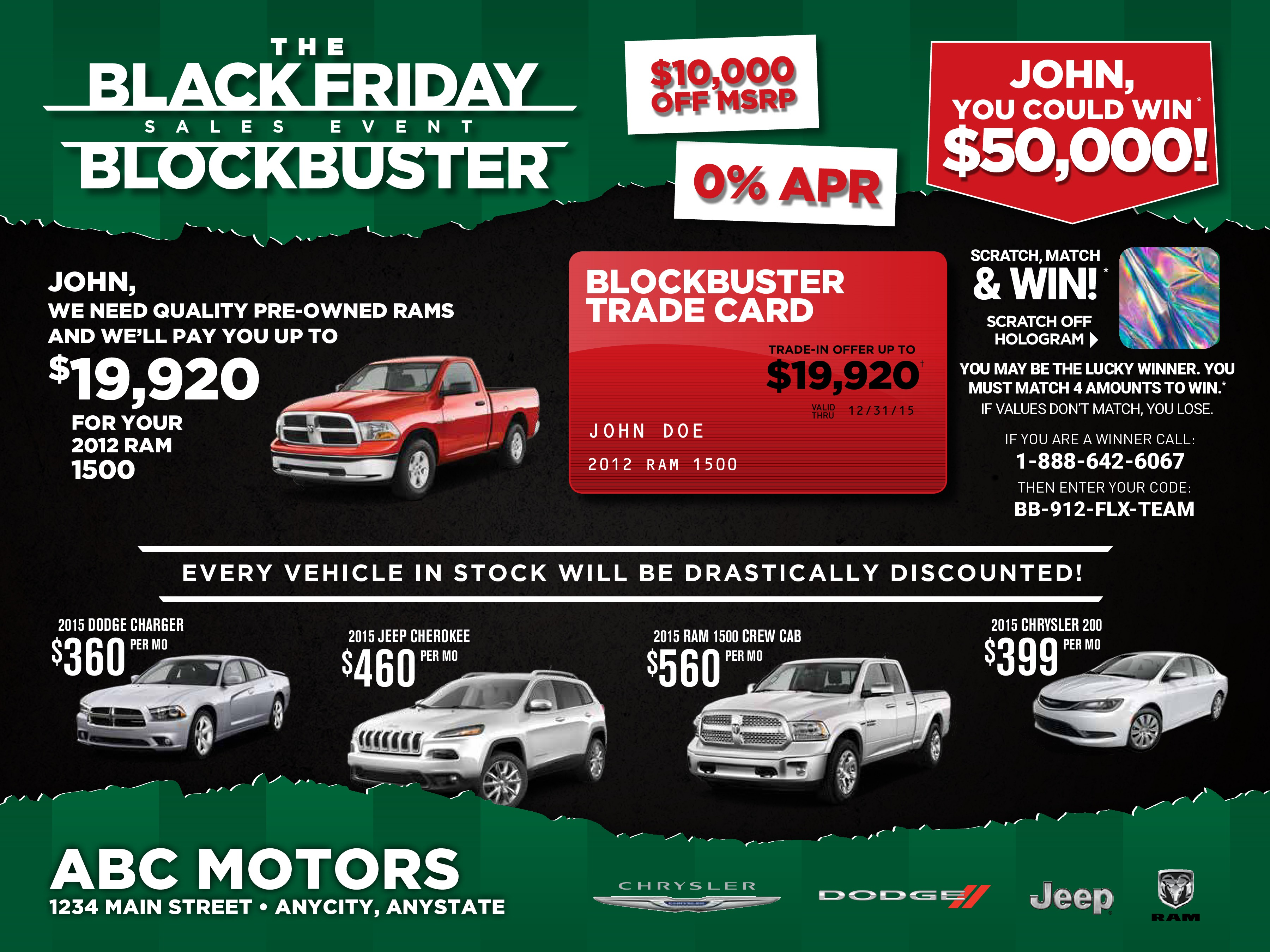 Black Friday Sales Event Flyers Ourmailworks Com